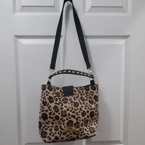 Betsey Johnson Bags - Betsey Johnson Leopard Bucket Tote